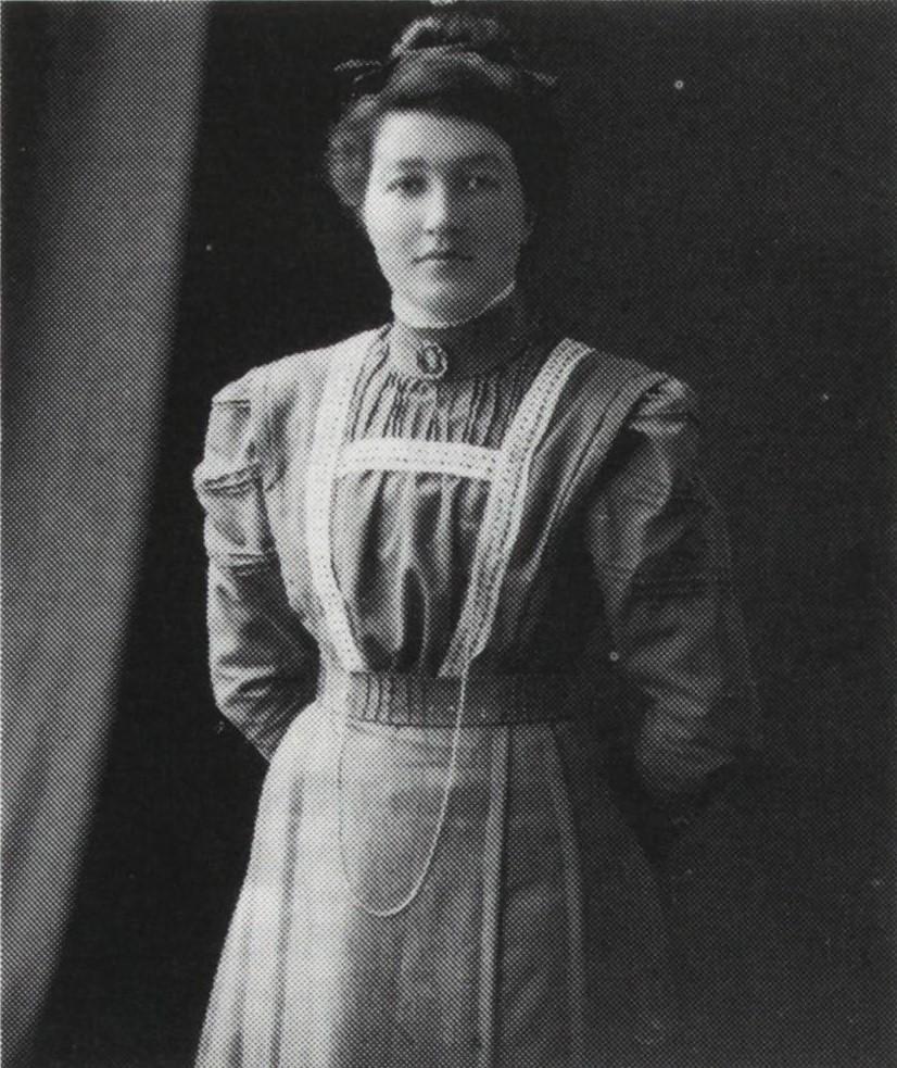 Gunhild Eriksen, meierske 1907-1914. Fra Verdal historielags skrifter 18 - 1991