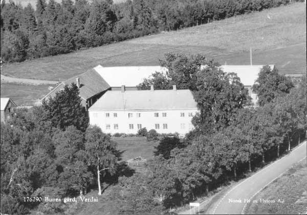 Bunes gård, Verdal. Årstall : Ca 1962 Utlånt med tillatelse: Woxholt Libris