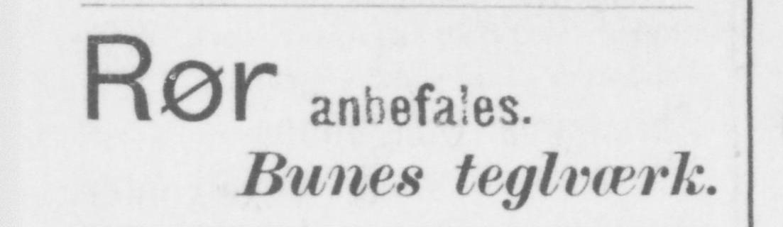 """Reklame/annonse fra """"Nordenfjeldsk Tidende"""" Nr. 135 Fredag 17. November 1899"""